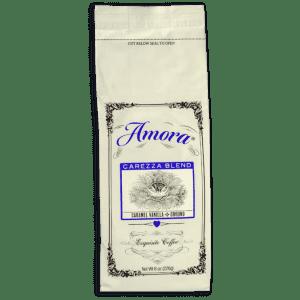 Amora Carezza Blend Caramel Vanilla Ground Coffee 8-oz. Bag: 2 for $19 or 3 for $27