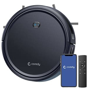 Coredy R400 Robot Vacuum Cleaner, Personalized Customized Robotic Vacuums Skin, 2000Pa Suction, for $200
