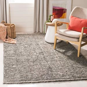 Safavieh Natural Fiber Collection NF447G Handmade Chunky Textured Premium Jute 0.75-inch Thick for $24