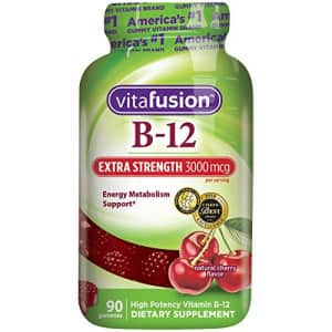 Vitafusion Extra Strength Vitamin B12 Gummies, 90 Count (Packaging May Vary) for $11