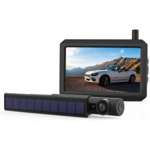 Cargoplay Solar Wireless Backup Camera for $186