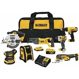 DeWalt 20V MAX Cordless Drill Combo Kit for $699