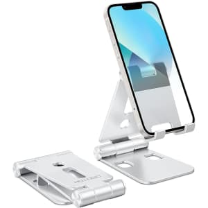Omoton Foldable Cell Phone Stand for $6