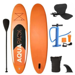 Inflatable Stand Up Paddle Board with Kayak Seat for $225