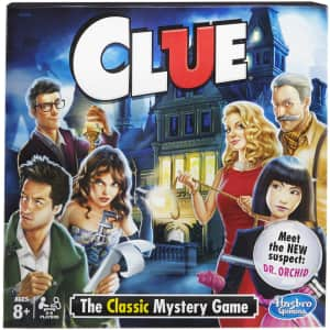 Hasbro Clue: The Classic Mystery Game for $7