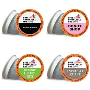 SF Bay Coffee Pods at Amazon: extra 25% off via Sub & Save