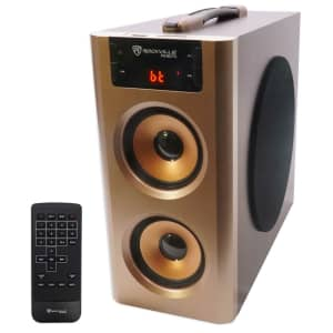 Rockville Bluetooth Compact Home Theater Speaker System for $40