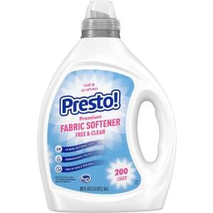 Presto! 80-oz. Concentrated Fabric Softener for $9.75 via Sub & Save