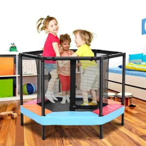 """OneTwoFit 36"""" Mini Trampoline for $80"""