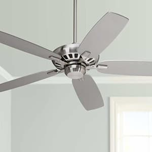"""Casa Vieja 52"""" Journey Modern Ceiling Fan with Remote Control Brushed Nickel for Living Room Kitchen Bedroom for $300"""