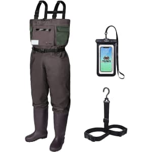 Runcl Chest Waders with Built-in Boots for $50