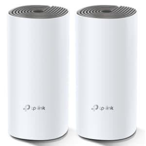 TP-Link Deco W2400 AC1200 Whole Home Mesh WiFi System 2-Pack for $54