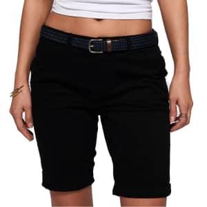 Superdry Women's International City Shorts for $20