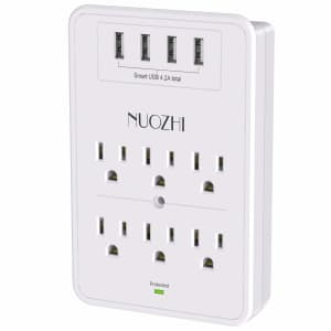 Nuozhi 1,680-Joule Surge Protector for $13
