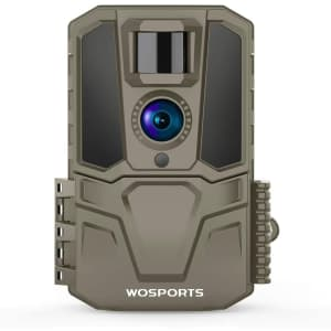 WoSports 30MP Motion-Activated Trail Camera for $39
