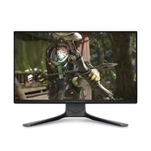 Alienware 25 AW2521HF 24.5 inch Gaming Monitor (Dark) 1ms GtG RT, FHD IPS LED Backlit FHD at 240 Hz for $350