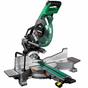 Metabo HPT 10-Inch Sliding Miter Saw | Zero Rear Clearance Slide System | Dual Bevel | Laser Marker for $240