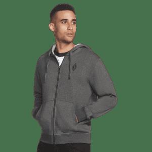 Skechers Men's Diamond Front Zip Hoodie for $25