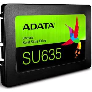 "Adata 240GB SU635 SATA 6Gbps 2.5"" Internal SSD for $27"