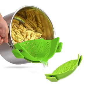 Ephiioniy Silicone Clip-on Strainer for $8