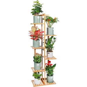 Gar-Life 6-Tier Bamboo Plant Stand Rack for $40