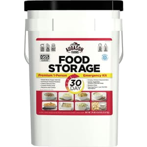 Augason 30-Day 1-Person Emergency Food Supply for $147