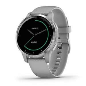 Garmin vivoactive 4S, Smaller-Sized GPS Smartwatch, Features Music, Body Energy Monitoring, for $246
