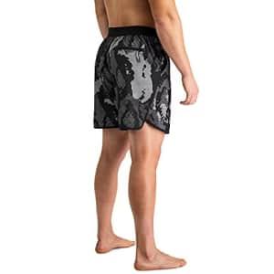 Under Armour Men's Standard Swimwear, Black 7, SM for $32
