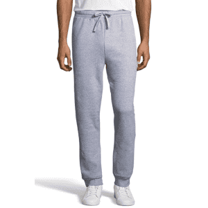 Hanes Men's Jogger Sweatpant with Pockets for $13