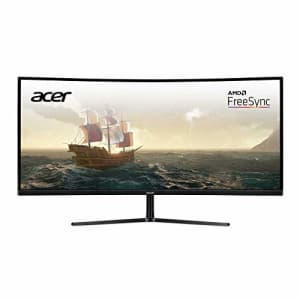 """Acer EI292CUR Pbmiipx 29"""" 1200R 21:9 Curved Full HD UltraWide 2560 x 1080 Radeon FreeSync Gaming for $348"""
