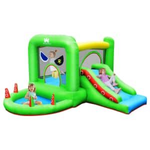 Costway Inflatable Pirate Bounce House for $152