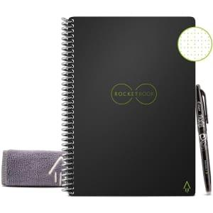 Rocketbook Smart Reusable Letter Size Notebook for $24