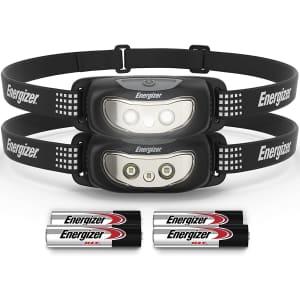 Energizer LED Headlamp 2-Pack for $11