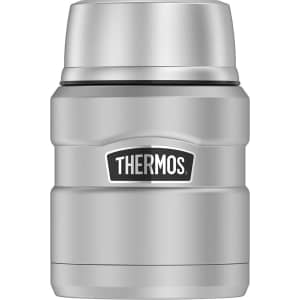 Thermos King 16-oz. Insulated Stainless Steel Food Jar w/ Folding Spoon for $15