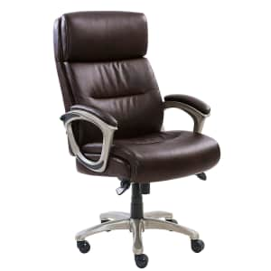 La-Z-Boy Varnell Bonded Leather Big & Tall Executive Chair for $160 for members