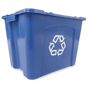 Rubbermaid Commercial Stackable Recycling Bin for $24