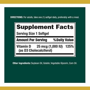 Nature's Bounty Vitamin D by Natures Bounty for immune support. Vitamin D provides immune support and promotes for $5