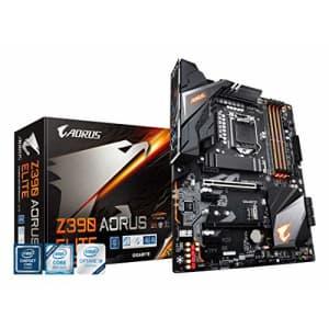 Gigabyte Z390 AORUS Elite (Intel LGA1151/Z390/ATX/2xM.2/Realtek ALC1220/RGB Fusion/Gaming for $200