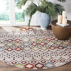 Safavieh Amsterdam Collection AMS108G Moroccan Boho Non-Shedding Stain Resistant Living Room for $40