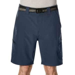 Denali Men's Multi Pocket Cargo Shorts for $10