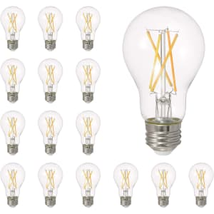 Sylvania LED A19 Natural Series Light Bulb 16-Pack for $31
