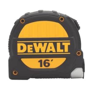 DEWALT DWHT33924L 16 foot Tape Measure, 1-1/4 inch blade for $37