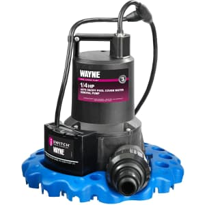Wayne Pool Cover Water Removal Pump for $160