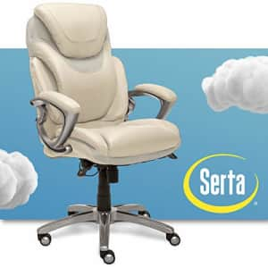 Serta AIR Health and Wellness Executive Office Chair, High Back Big and Tall Ergonomic for Lumber for $370