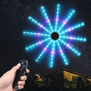 Starburst Firework Neon LED Light Bar for $35