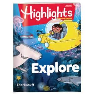 Highlights 1-Year Magazine Subscription: $26.68
