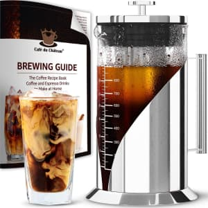 Cafe du Chateau 34-oz. Cold Brew Coffee Maker for $25