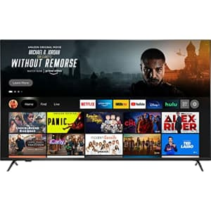 All-New Insignia NS-55F501NA22 55-inch F50 Series Smart 4K UHD QLED Fire TV, Released 2021 for $450
