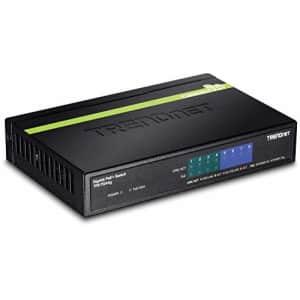 TRENDnet 8-Port Gigabit GREENnet PoE+ Switch,TPE-TG44G, 4 x Gigabit PoE/PoE+ Up to 30 Watts/Port, 4 for $104