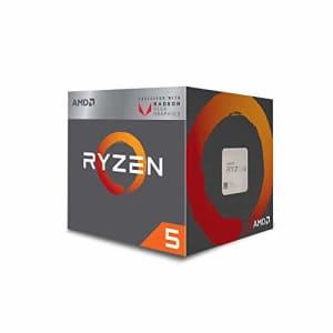 AMD Ryzen 5 3400G 4-core, 8-Thread Unlocked Desktop Processor with Radeon RX Graphics for $310